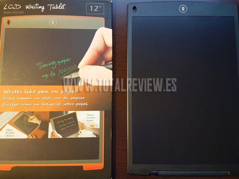 Unboxing y review de la tablet de escritura LCD 12 inch de Grandbeing