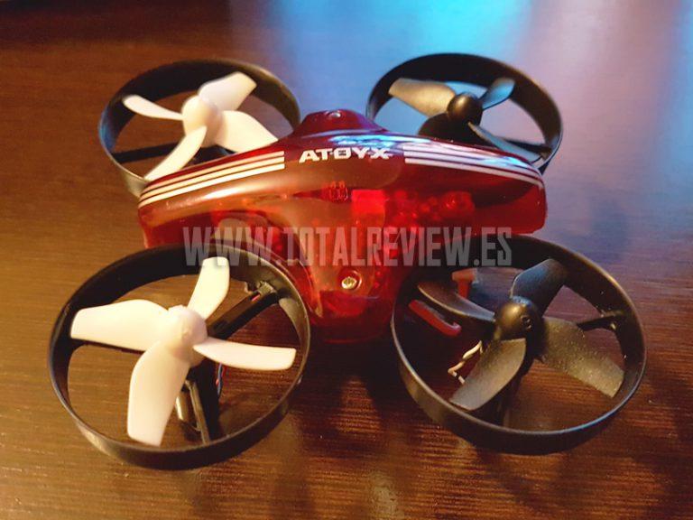 Unboxing del dron ATOYX AT-66: el mejor mini drone barato
