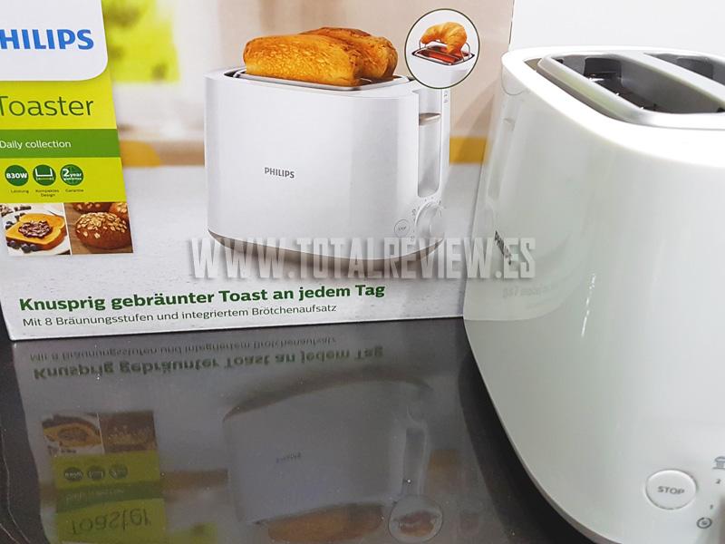 Tostadora de pan para desayuno