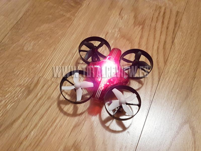 ATX AT-66 mini drone, prueba de vuelo