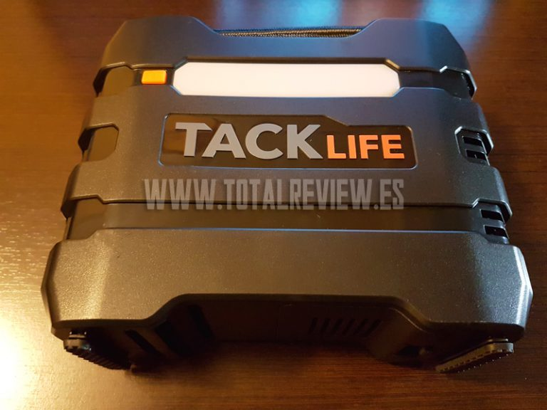 Compresor de aire portátil TackLife: la bomba de aire para coche que buscas