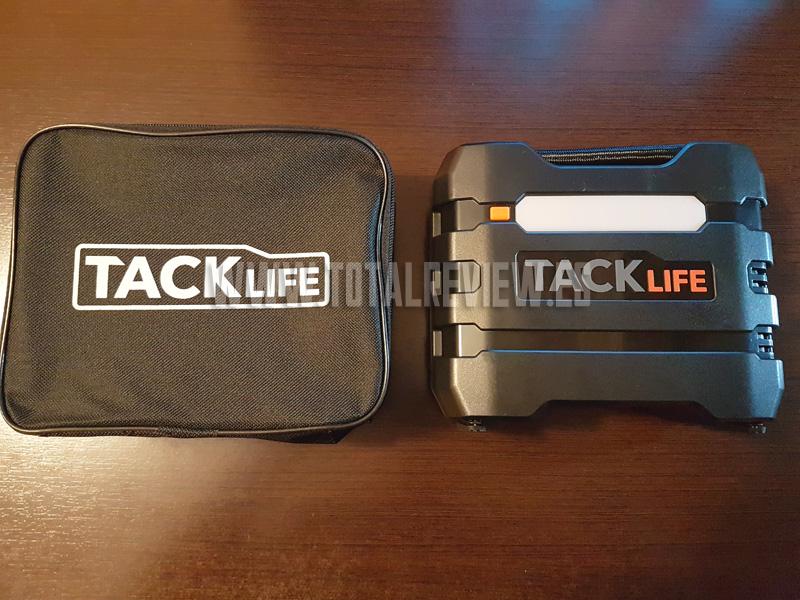 compresor aire portatil2 1 - Compresor de aire portátil TackLife: la bomba de aire para coche que buscas