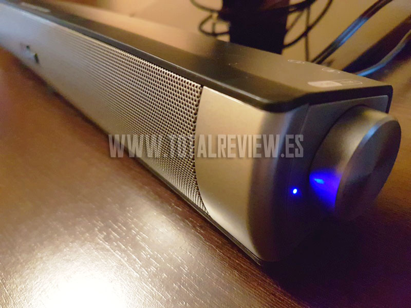 altavoz y barra de sonido para TV