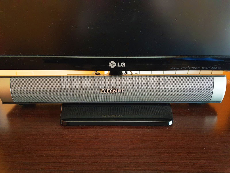 barra de sonido y altavoz para PC
