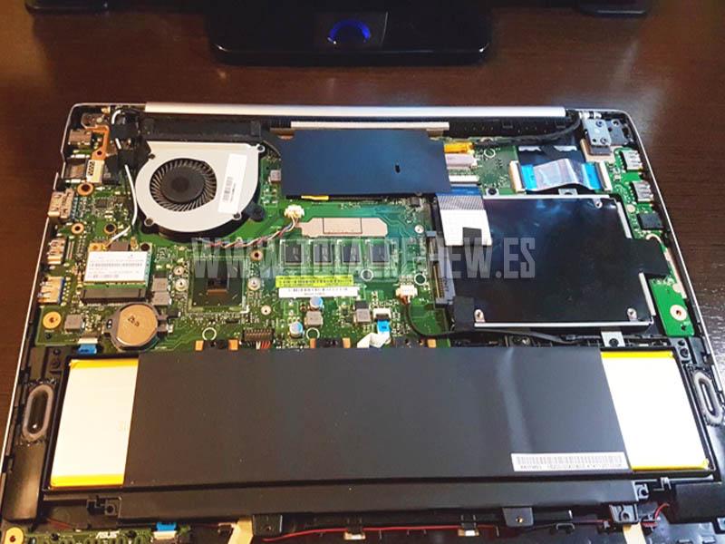 cambiar disco duro por SSD en un portátil
