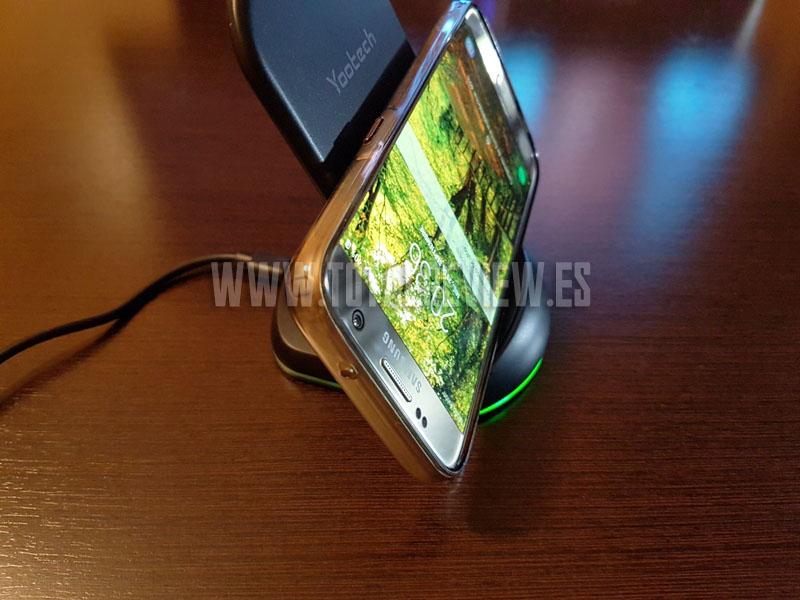Cargador inalámbrico para Samsung