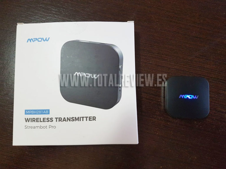 Review: transmisor Bluetooth para TV de Mpow