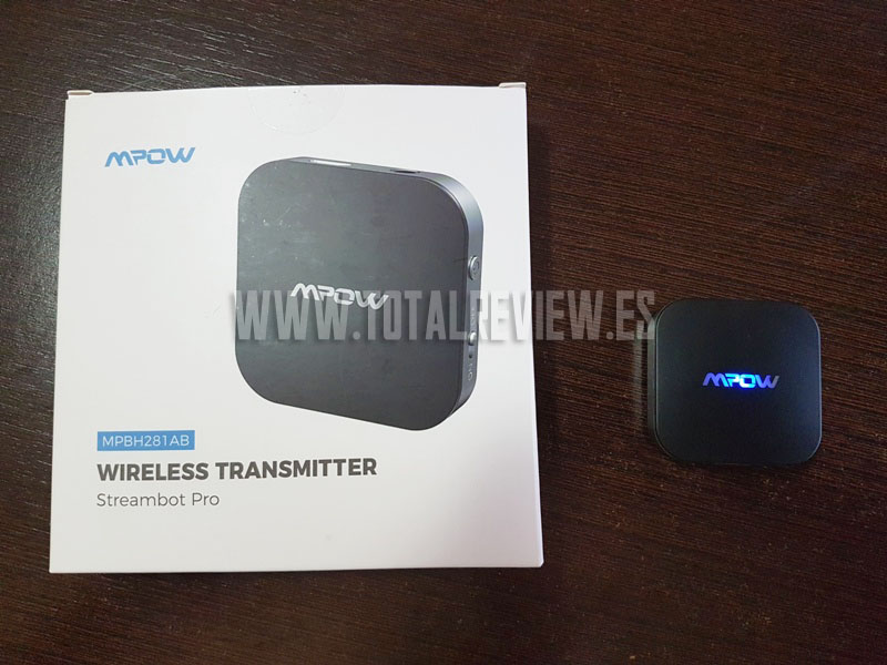 transmisor Bluetooth para TV