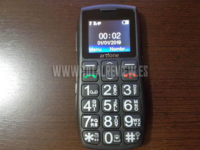 teléfono inalámbrico para mayores Artfone