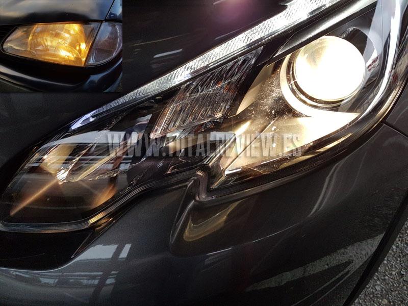 luces de coche halógenas, comparativa