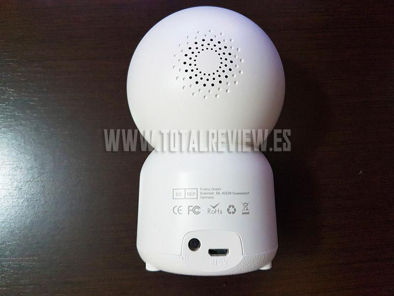 cámara de vigilancia inalámbrica
