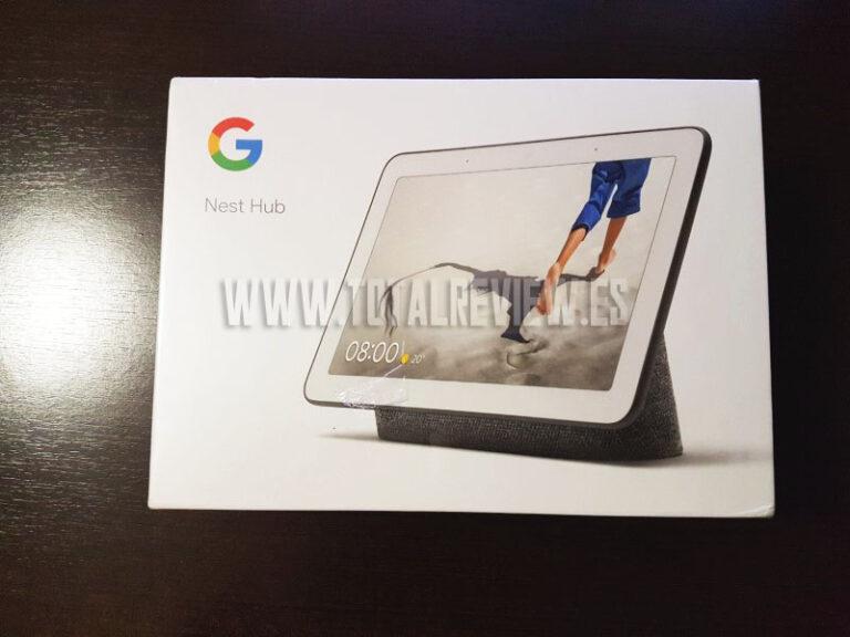 Google Nest Hub: el altavoz inteligente de Google