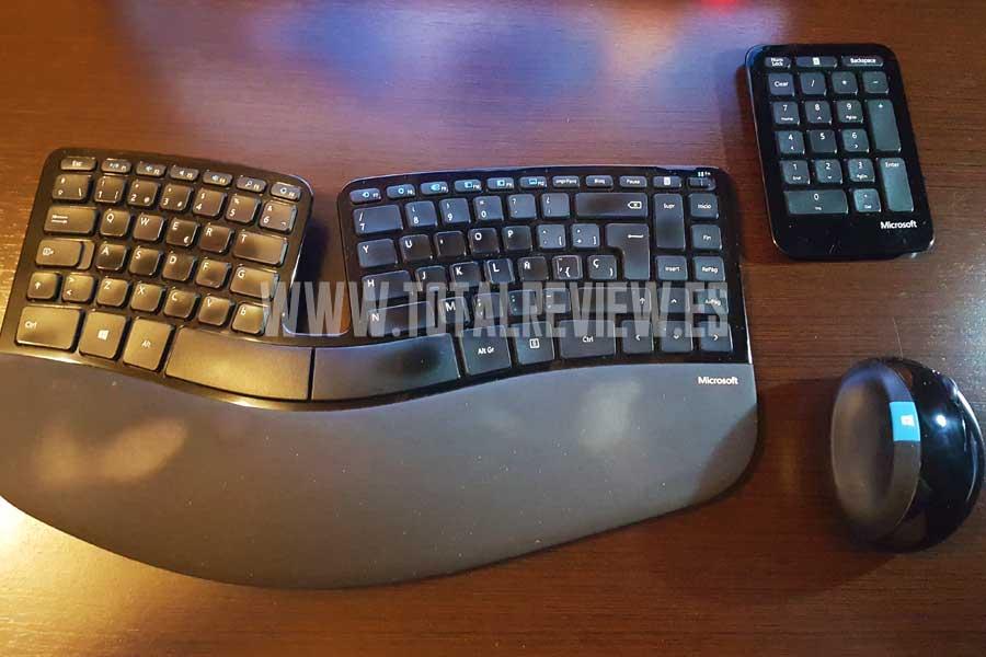 teclado y ratón inalámbrico de Microsoft