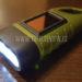 linterna LED recargable solar de Amazon para el coche